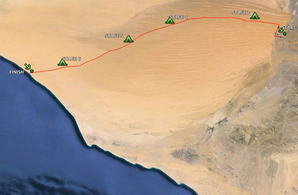 Harta - Oman Marathon
