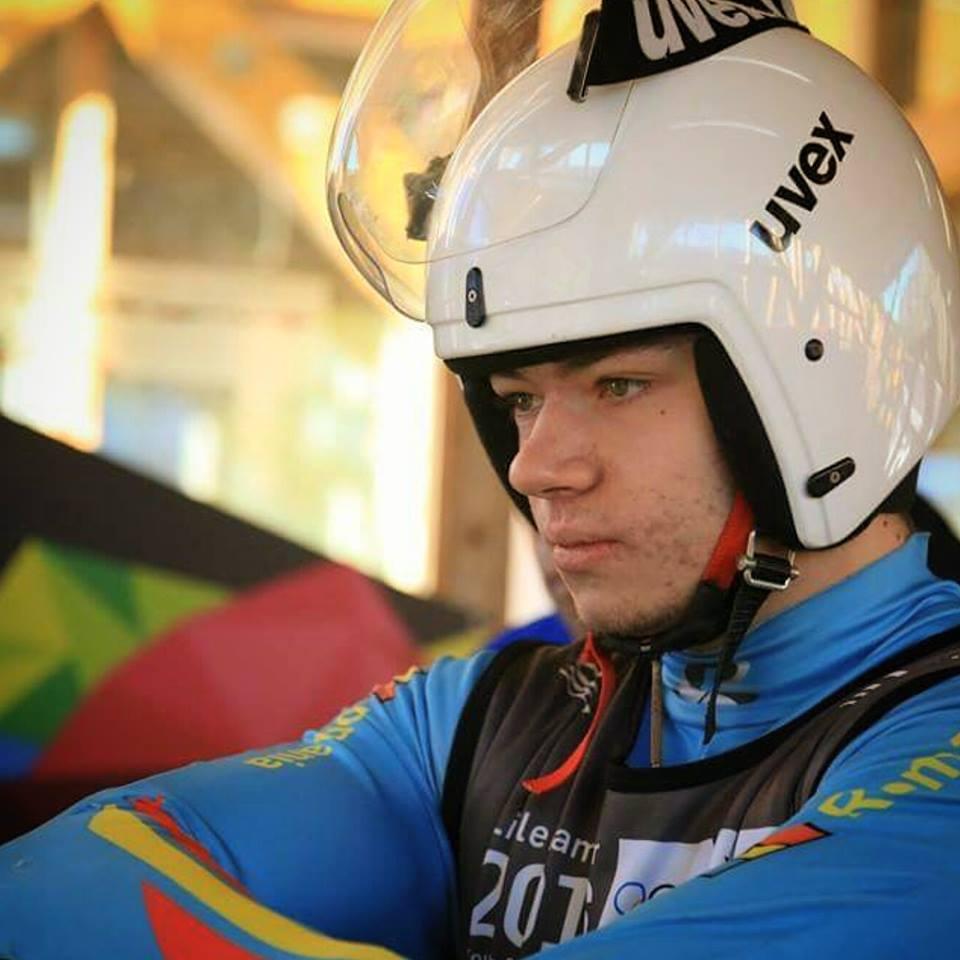 Andrei Turea component al lotului national de sanie