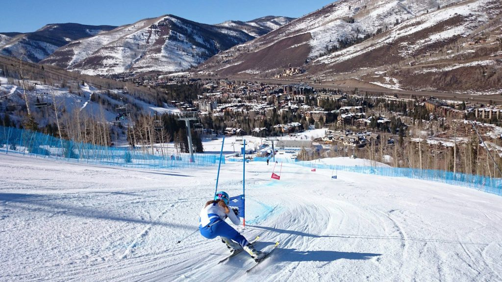 Schi alpin din placere pentru performanta! Ania Caill se apropie de Pyeong