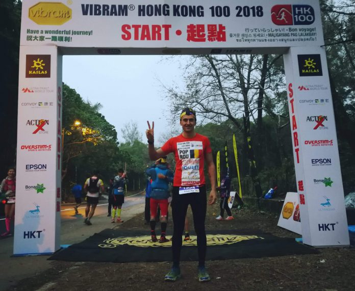 Primul roman la finish in Ultra Trail World Tour 2018! Vlad termina prima etapa in Hong Kong!