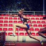 """Ionita a obtinut titlul """" Maestru al sportului""""! Castiga medalii la atletism si pregateste copiii pentru performanta"""