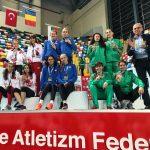 Numarul 1 in Balcani la moment de bilant delegatia Romaniei de atletism! Hi5!