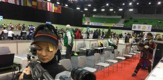 Roxana Tudose castiga medalia de aur la Tir si se intoarce triumfatoare acasa de la Europene