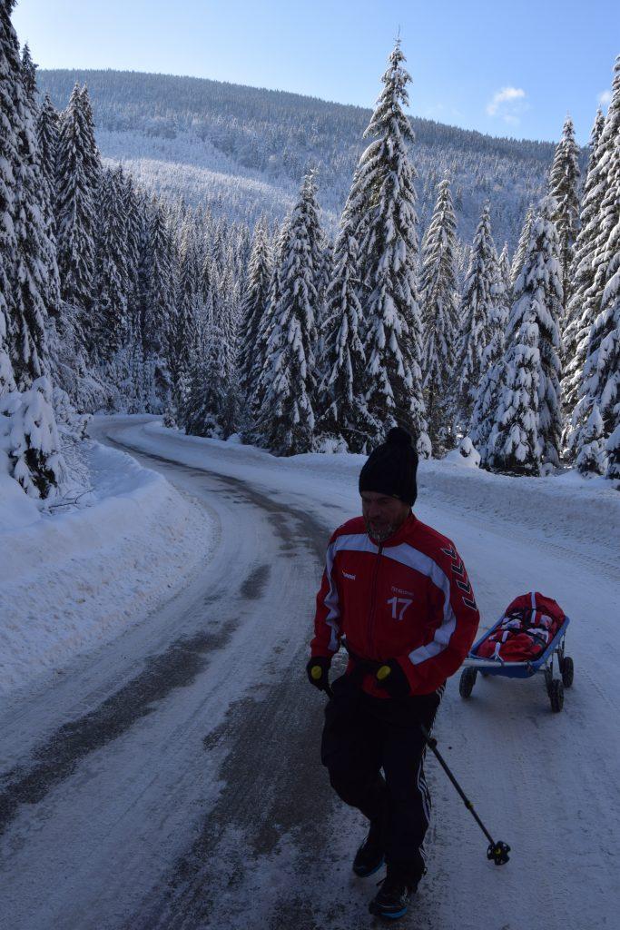 Avram Iancu participa la Arctic Ultra