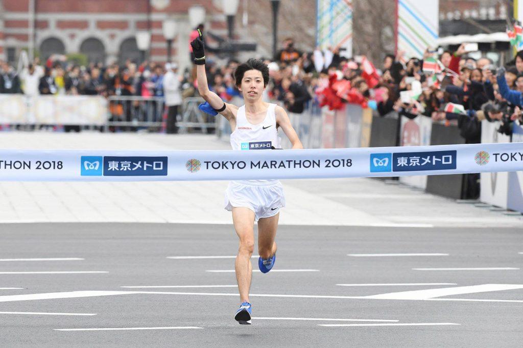 Maraton istoric la Tokyo