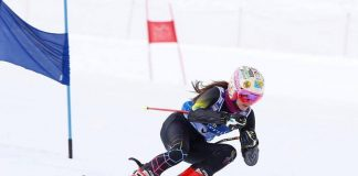 Lea Trifu castiga tot la slalom urias, la Nationale! Performanta in schi alpin