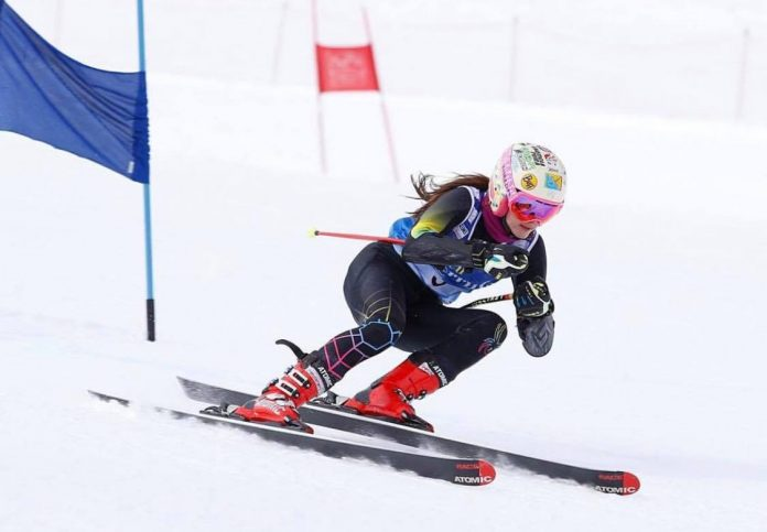 Lea Trifu castiga tot la slalom urias, la Nationale! Performanta in schi alpin