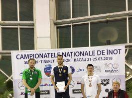 Bogdan Scarlat mentine traditia: medalii de aur la Nationalele de Inot!