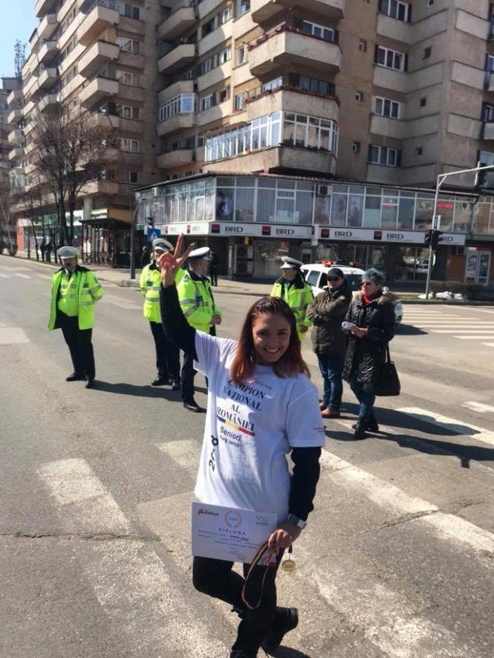 Andreea Arsine intra in linie dreapta spre cursa din China