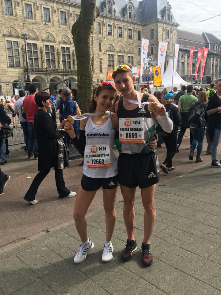 Maratonul de la Rotterdam: cele mai bune rezultate pentru Necula si Dinu.