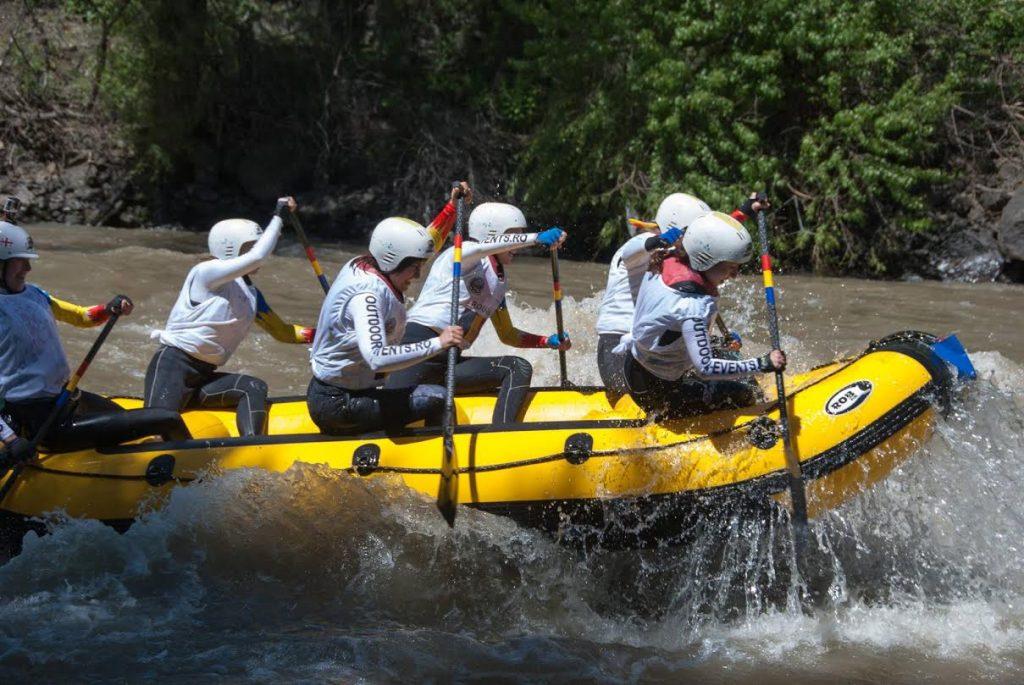 rafting in Romania