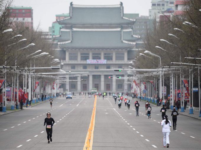 maratonul din Phenian