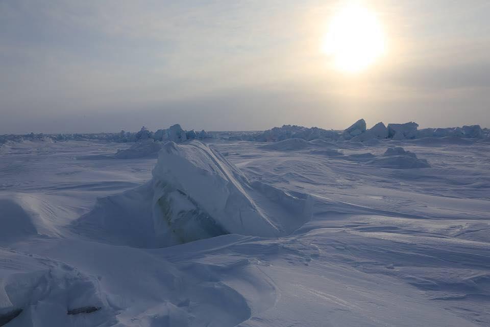 Maratonul de la Polul Nord