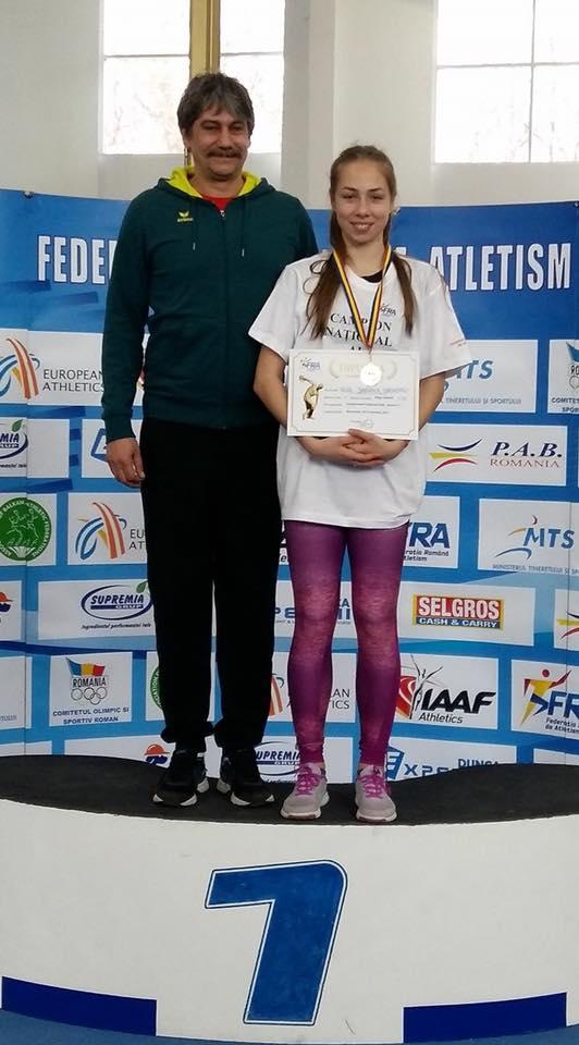 Daria Grigoriu face primul pas spre Mondiale. Atleta face record la 15 ani