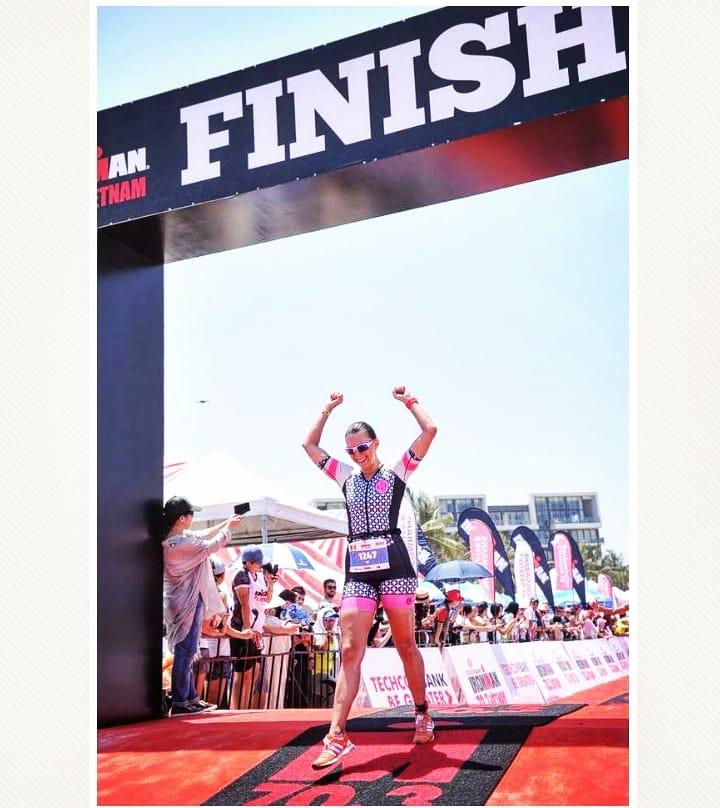 Ironman Vietnam 70.3 cu Maria Gerda Dumitru in Top 10.