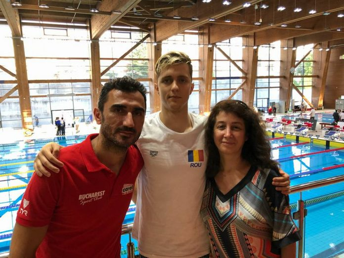 Andrei Anghel va participa la Campionatul European de Natatie la Juniori