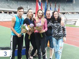 Rezultate la sarituri si aruncari la Internationalele de Atletism de la Cluj