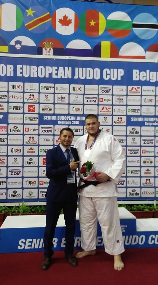 Medalii la Judo in Cupa Europeana. Natea are concluziile