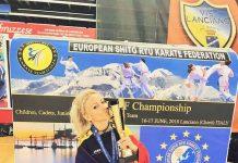 Alexandra Pop a castigat doua medalii la Europeanul de Shito Ryu