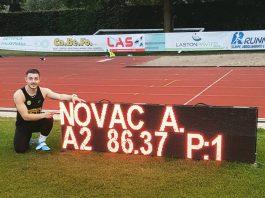 Recorduri pentru atletii romani. Parge la 400 de metri si Novac la Sulita
