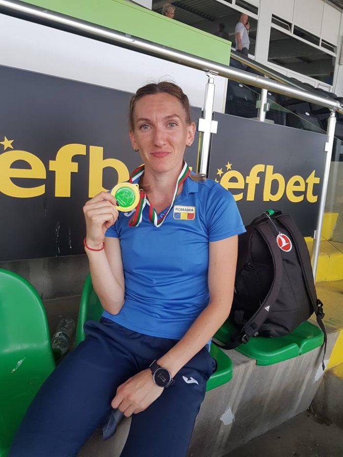 Sanda Belgyan e pregatita pentru o noua medalie de aur si