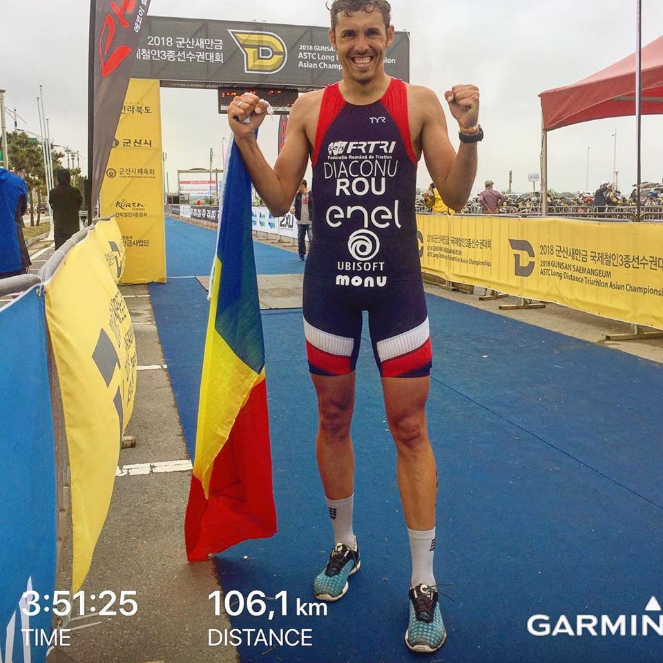 Diaconu e in TOP 10 Mondial. Urmeaza Europenul de Triatlon pe distanta medie.