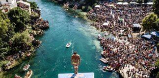 Popovici se pregateste de RedBull Cliff Diving la Polignano, pe 22 si 23 septembrie