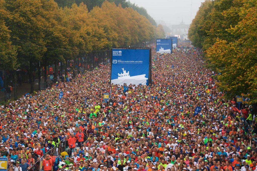 Alexandru Corneschi Berlin Marathon