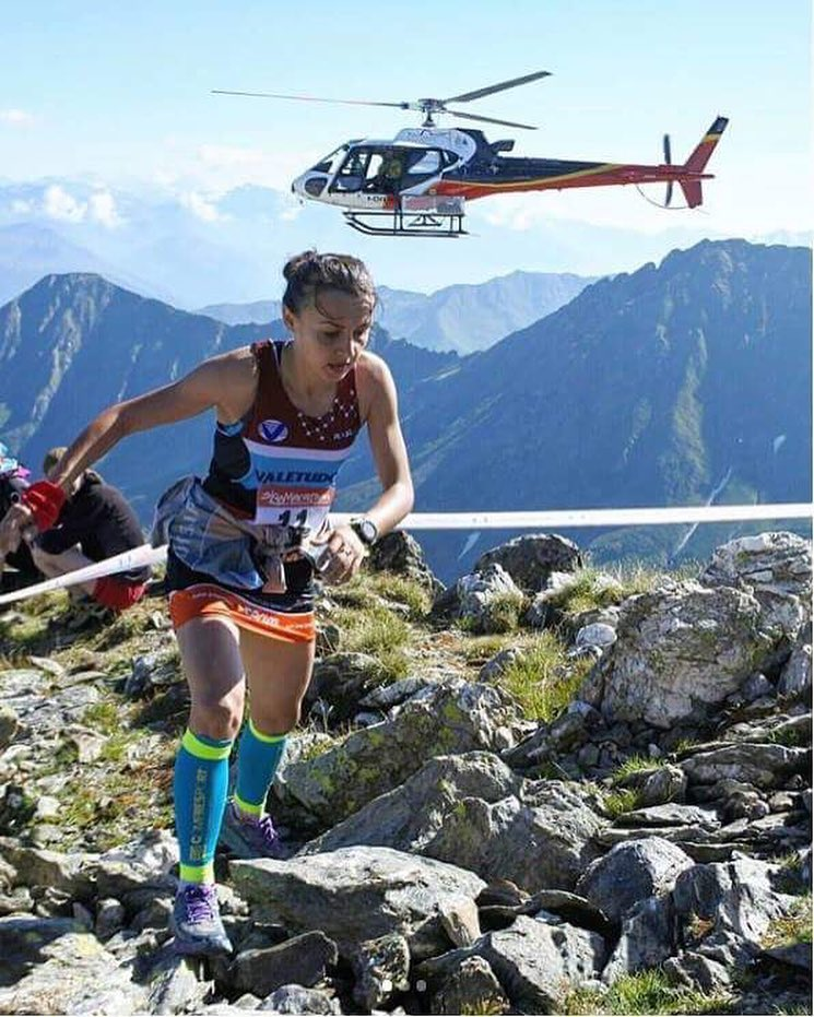 Denisa Dragomir alergare