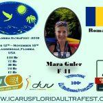 Mara Guler si Florentina Iofcea vor concura la Icarus Florida UltraFest in cateva zile