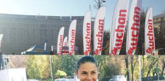 Claudia Bobocea a castigat trei probe la Bucharest Urban Athletics Auchan