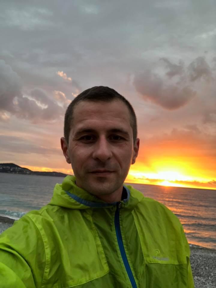 ultramaratonistul Adrian Bontiu