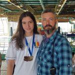 Costea a primit medalia de aur de 1 Decembrie. Povestea Biancai la inot