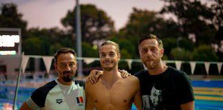 """Recorduri pentru Robert Glinta in cursa de calificare pentru Jocurile Olimpice de la Tokyo 2020! """"Glinţă a reuşit recorduri ale reuniunii Luxembourg Euro Meet în ambele probe. Din pacate, deși timpul e barem A, FINA nu"""
