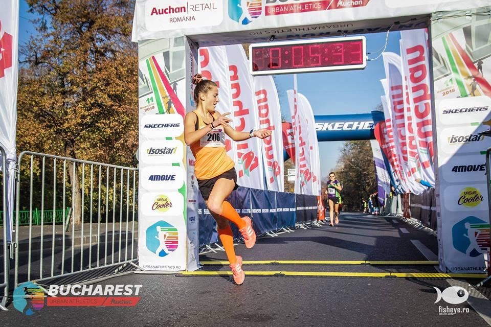 Anastasia Fotu si pasiunea pentru alergare. Debut si obiective.