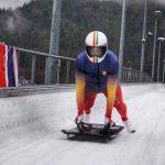 Mihai Pacioianu a debutat in Cupa Mondiala de skeleton! Urmeaza alte premiere