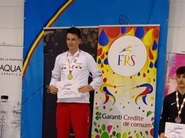 Daniel Popa si povestea in scrima. A castigat doua medalii la Nationale.