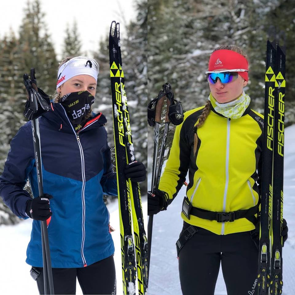 Gemenele Andreca sunt in mare forma. Performanta la schi fond