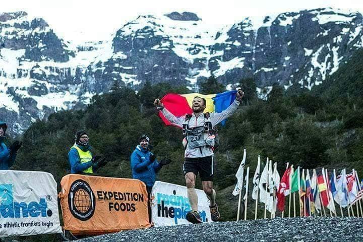 ultramaratonistul pompier Iulian Rotariu