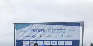 Mihaela Hogas e pe locul doi dupa cele 3 Cupe Mondiale la patinaj viteza pe gheata!