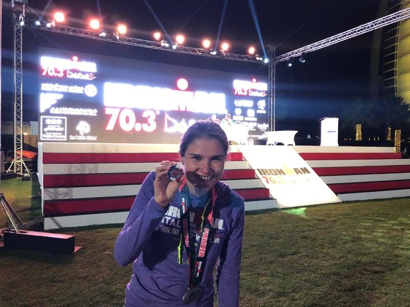 Andreea Calugaru e statistician si va concura la Mondialul de Triatlon