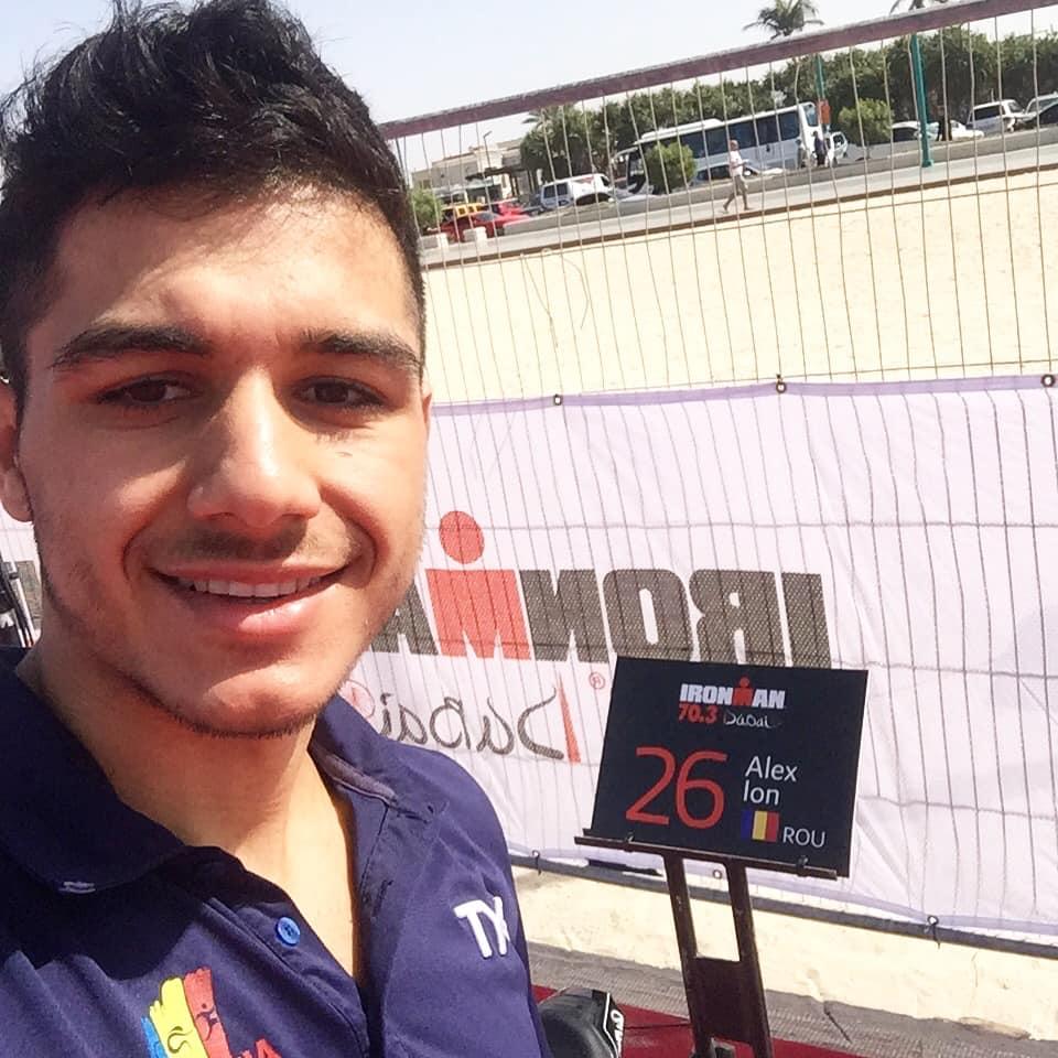 Alexandru Ion Half IronMan Dubai