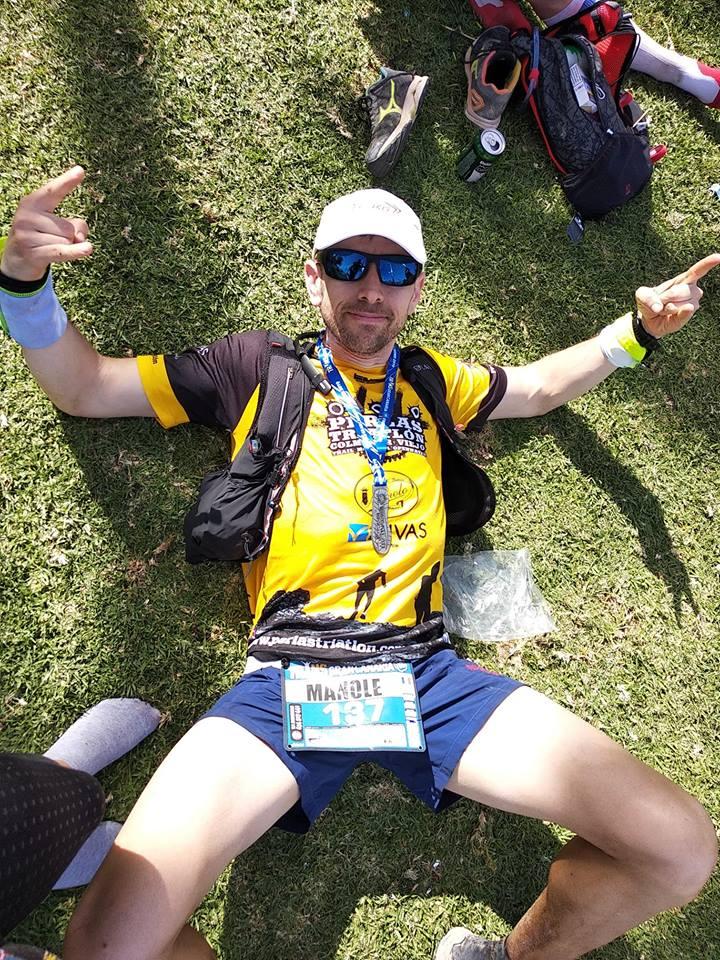 ultramaratonistul Cristi Manole