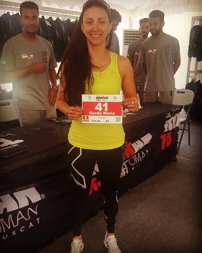 Triatlonista Maria Gerda Dumitru s-a calificat la 70.3 World Championship !