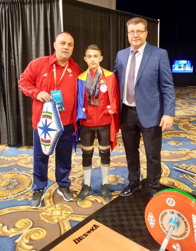 Romania are medalii la haltere la Mondialele din Las Vegas! Rezultate la Juniori