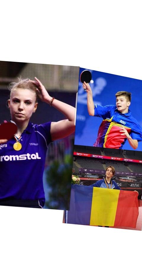 Diaconu este campioana europeana U21 la tenis de masa! Rezultate din Portugalia