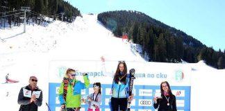 Leona Trifu castiga medalii la schi in Bulgaria. Cine a inspirat-o si noile obiective