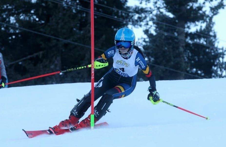 Diana Rentea e tripla campioana la Nationalele de Schi Alpin, la junioare, la Azuga!