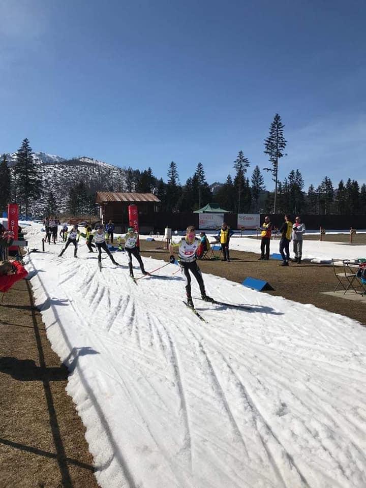 Romania e pe 3 la Campionatul Militar Regional, de schi biatlon din Polonia!