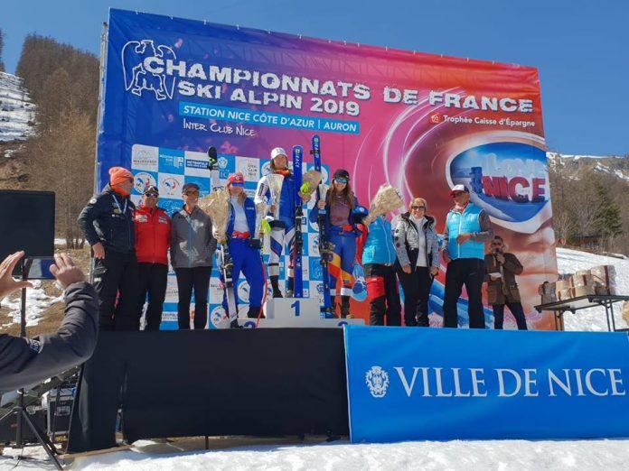 Ania Caill obtine cel mai bun rezultat pentru Romania la Coborare, la schi alpin!